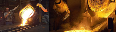 Iron foundry Gattermann melting operations grey cast content